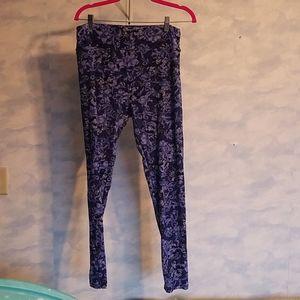 Blue mickey minnie lularoe leggings